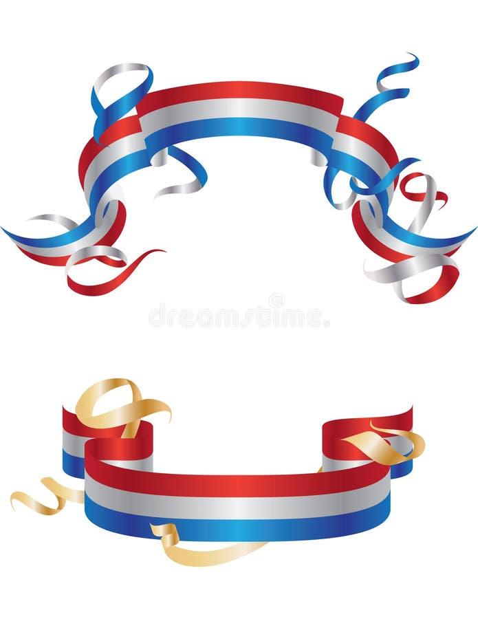 Bandeiras de América ilustração stock