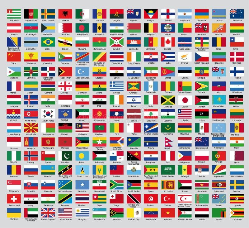 Bandeiras de país oficiais