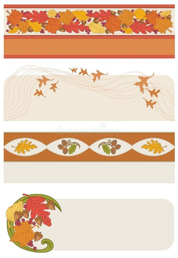 Bandeiras do outono