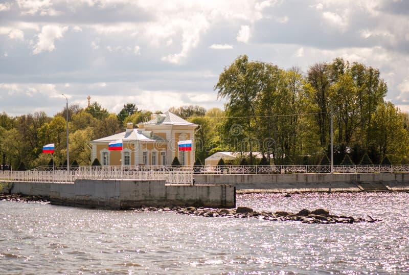 Bandeiras do russo imagens de stock royalty free