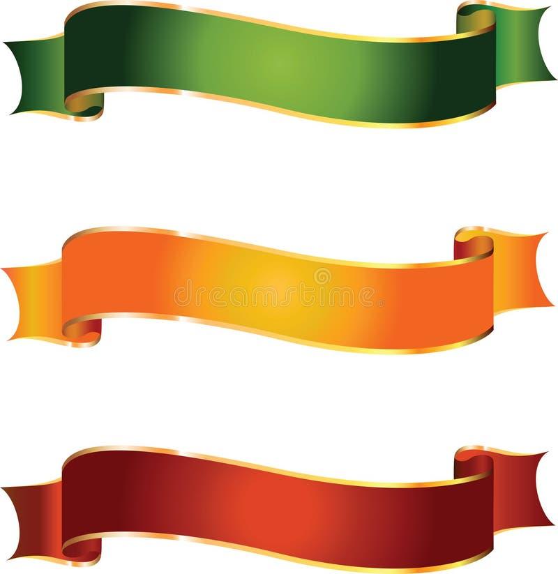 Bandeiras do vetor ilustração royalty free