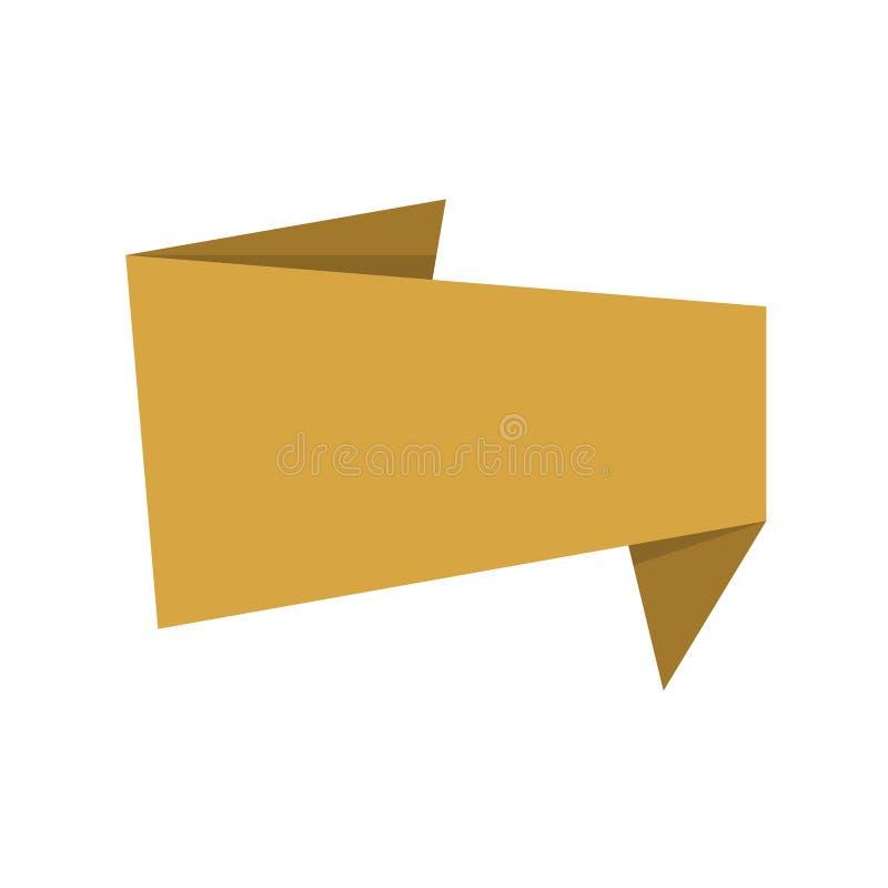 Bandeiras ou etiqueta, projeto de papel para a Web, etiquetas, etiquetas ilustração stock