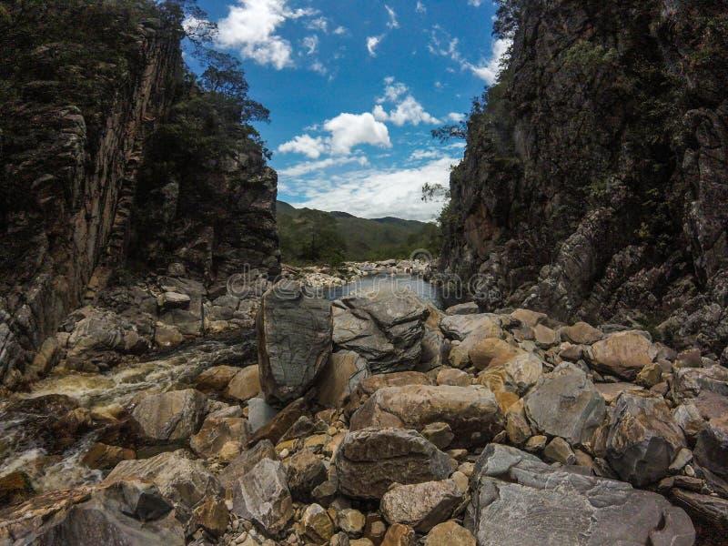 Bandeirinhas canyon royalty free stock photography