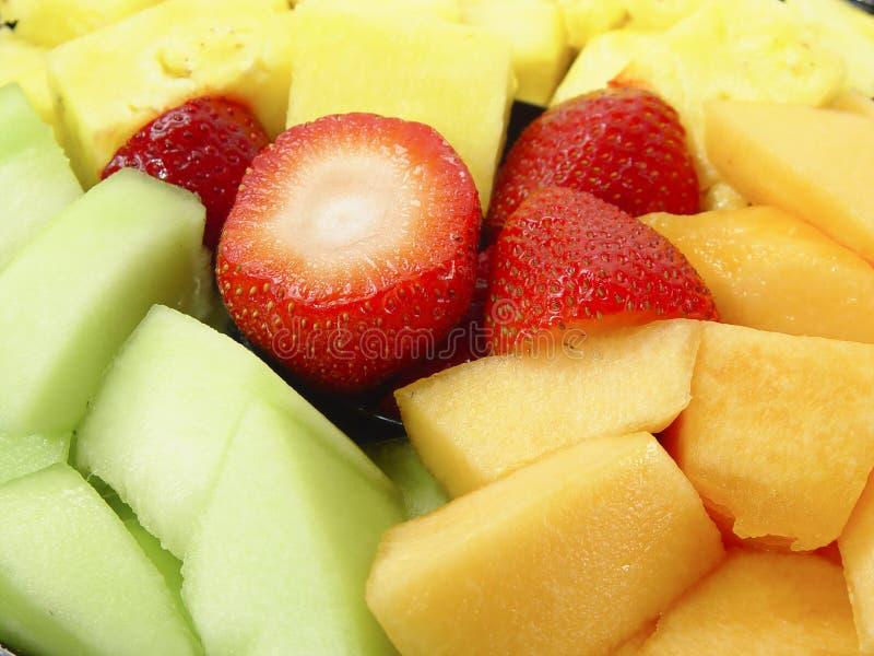 Bandeja da fruta imagem de stock