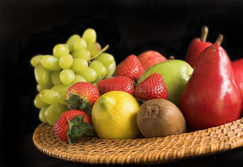 Bandeja Da Fruta Fotos de Stock
