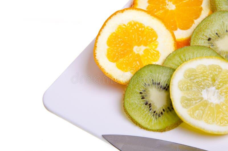 Bandeja da fruta imagem de stock royalty free