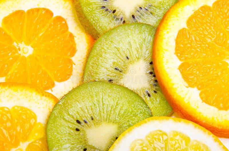Bandeja da fruta fotografia de stock royalty free