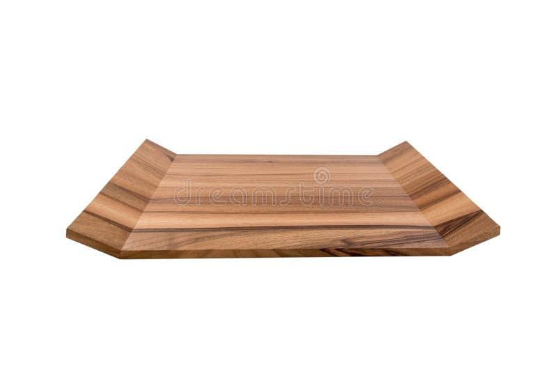 Bandeja de madeira foto de stock royalty free