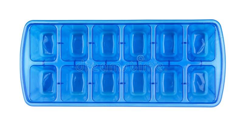 Bandeja del cubo de hielo imagenes de archivo