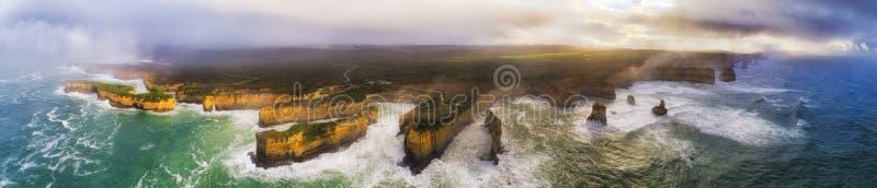 Bandeja do mar do franco da costa dos apóstolos de D GOR 12 foto de stock