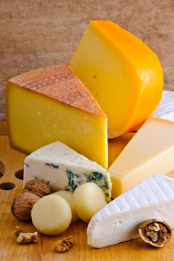 Bandeja do queijo fotos de stock royalty free
