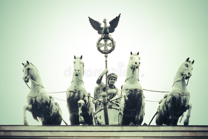 Bandenburg Gate royalty free stock photo
