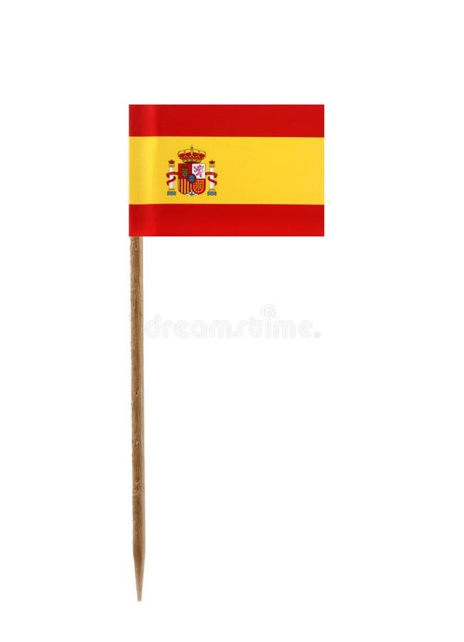 banderą Hiszpanii zdjęcia royalty free