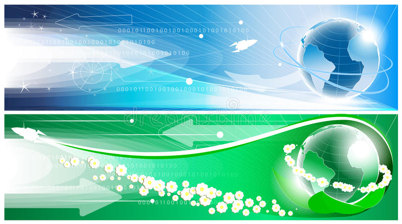 Download Bandera ilustración del vector. Ilustración de estrella - 41909939