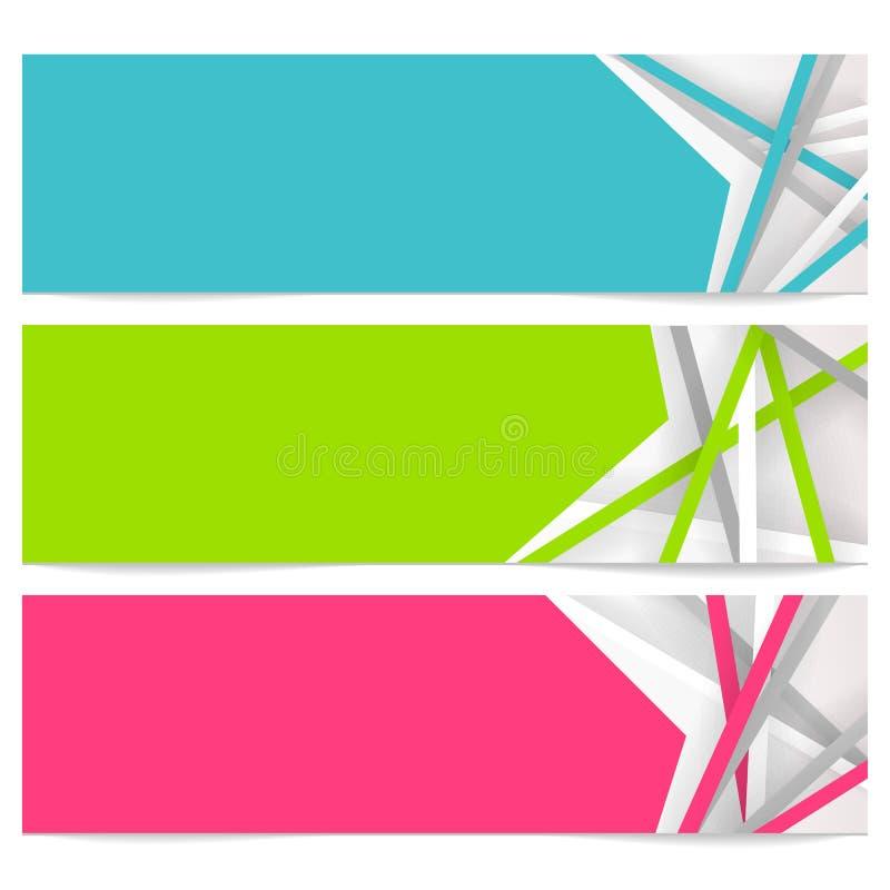 Bandera abstracta imagen de archivo libre de regalías