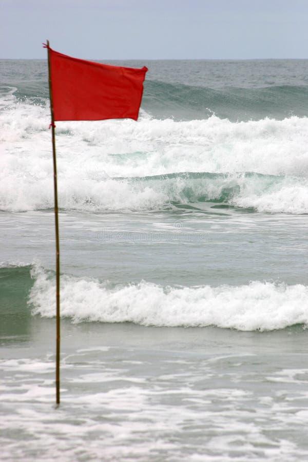 Bandera alerta imagen de archivo libre de regalías