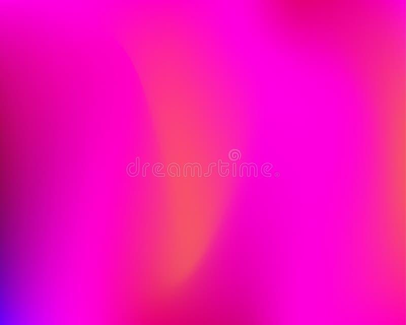 Bandera atractiva púrpura de la pendiente ilustración del vector