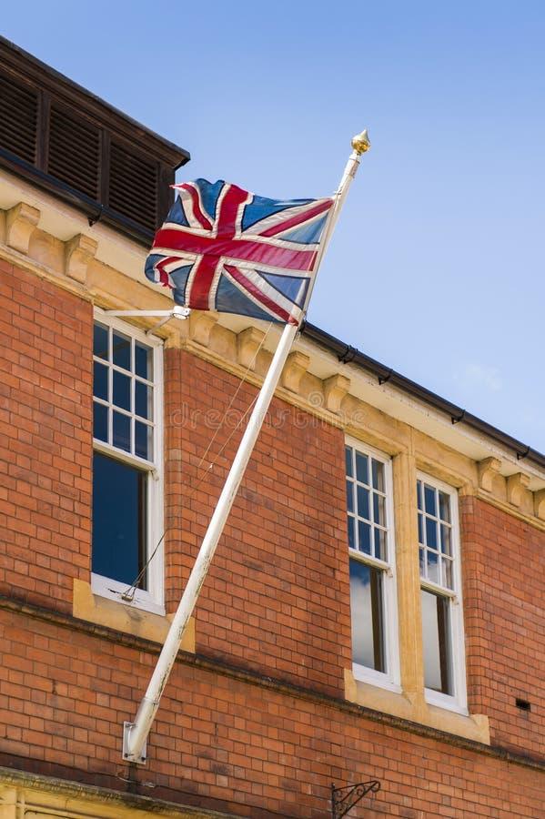 Bandera británica foto de archivo