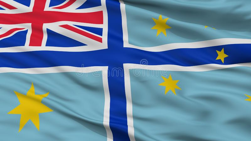 Bandera civil del aire de Australia 1935 opinión del primer de 1948 banderas stock de ilustración