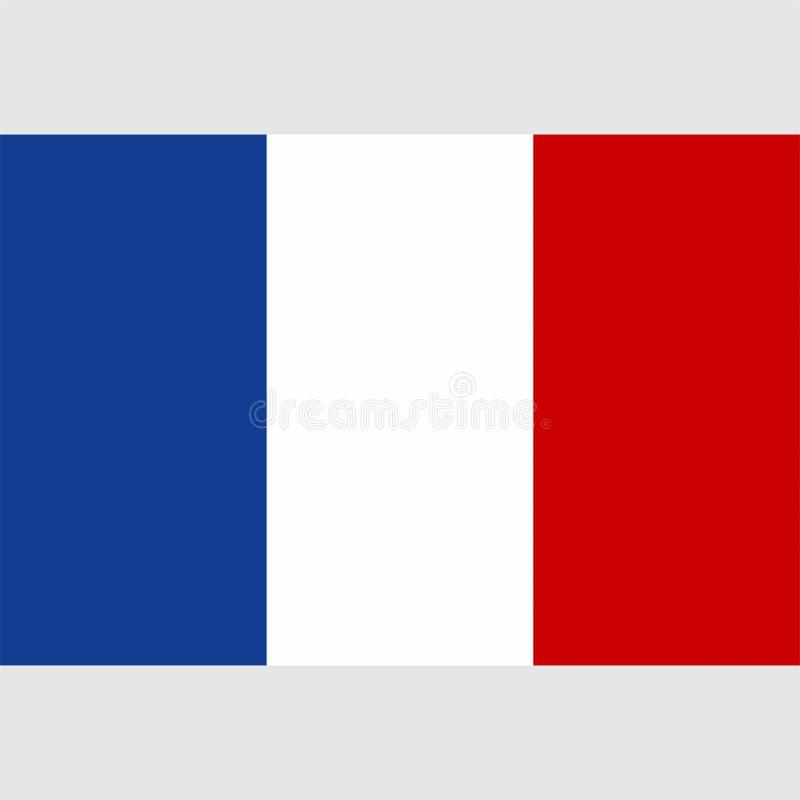 Bandera común 1 de Francia del vector ilustración del vector