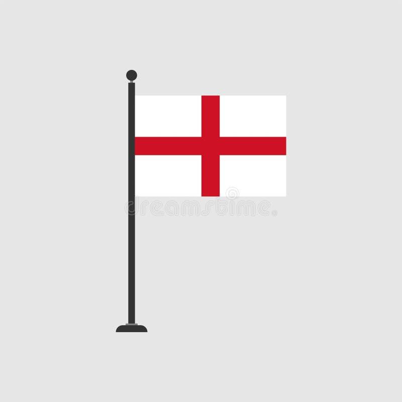 Bandera común 3 del englang del vector ilustración del vector