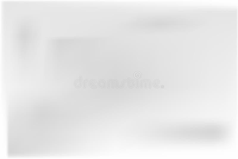 Bandera cuadrada de papel stock de ilustración