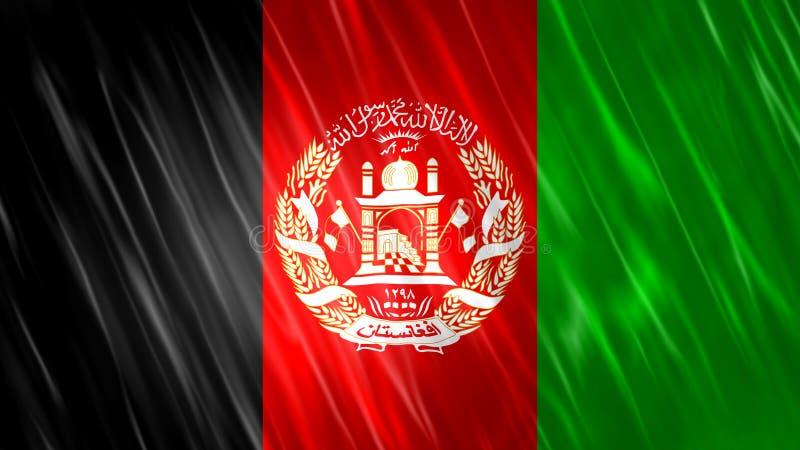 Bandera de Afganist?n fotos de archivo