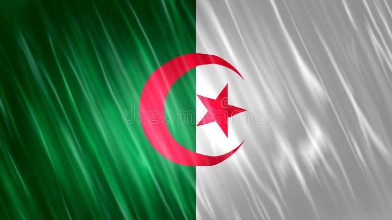 Bandera de Argelia imagen de archivo