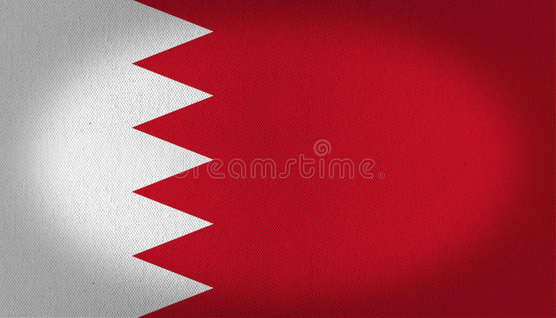 Bandera de Bahrein libre illustration