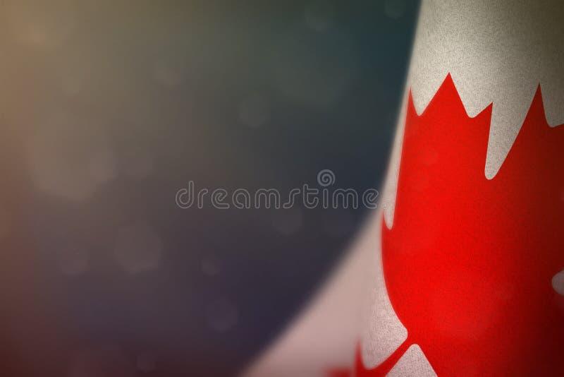 Bandera de Canadá para el honor del día o del Memorial Day de veteranos Gloria a los héroes de Canadá del concepto de la guerra e imagen de archivo