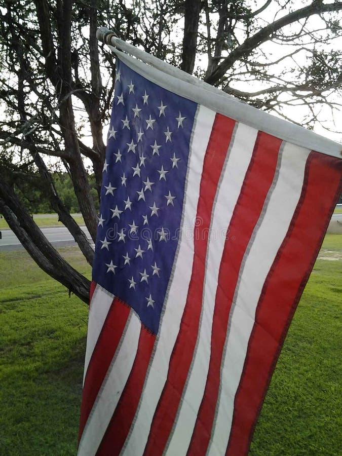 Bandera de casa de la granja foto de archivo libre de regalías