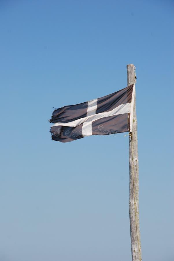 Bandera de Cornualles imagen de archivo