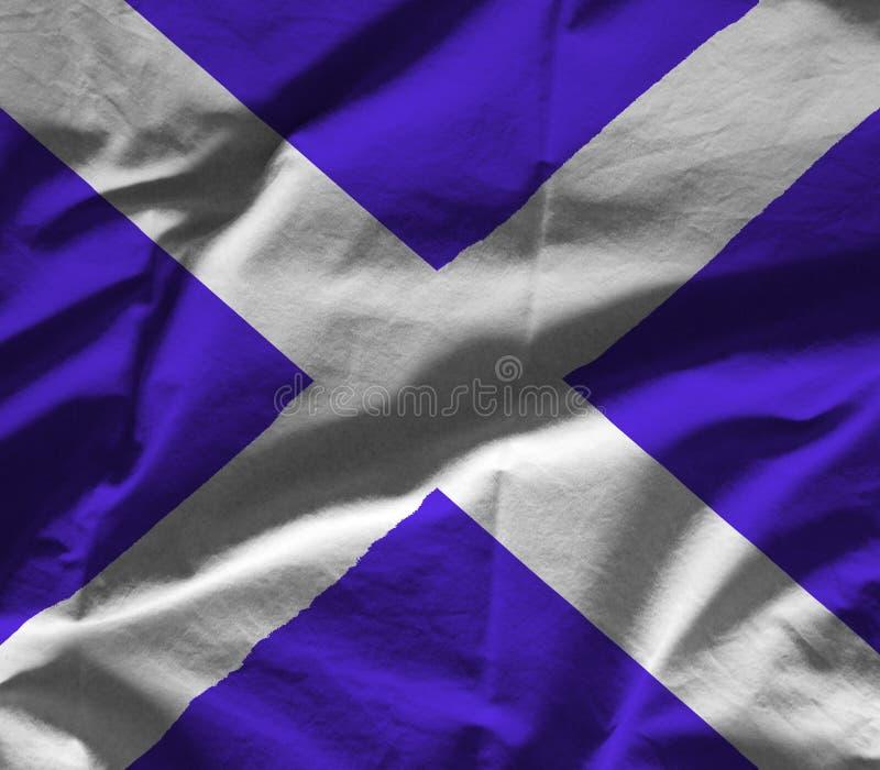 Bandera de Escocia foto de archivo libre de regalías