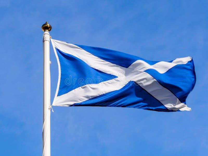 Bandera de Escocia imagen de archivo