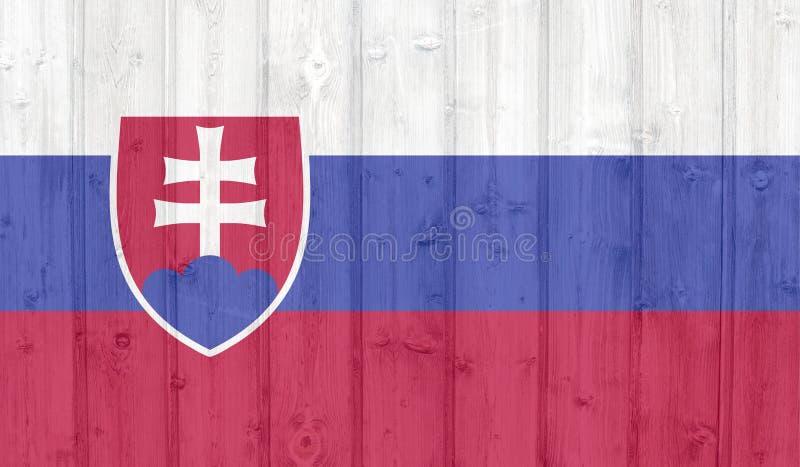 Bandera de Eslovaquia fotografía de archivo