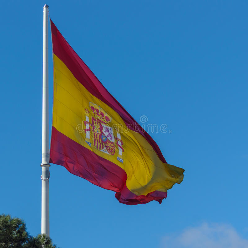Bandera de España fotos de archivo libres de regalías