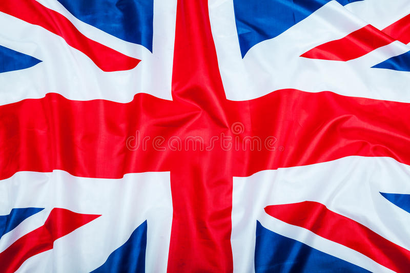 Bandera de Gran Bretaña Reino Unido fotografía de archivo