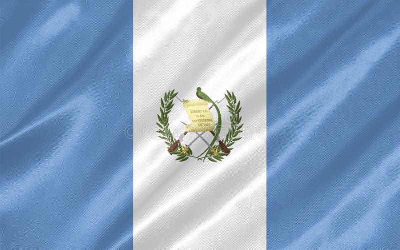 Bandera de Guatemala ilustración del vector