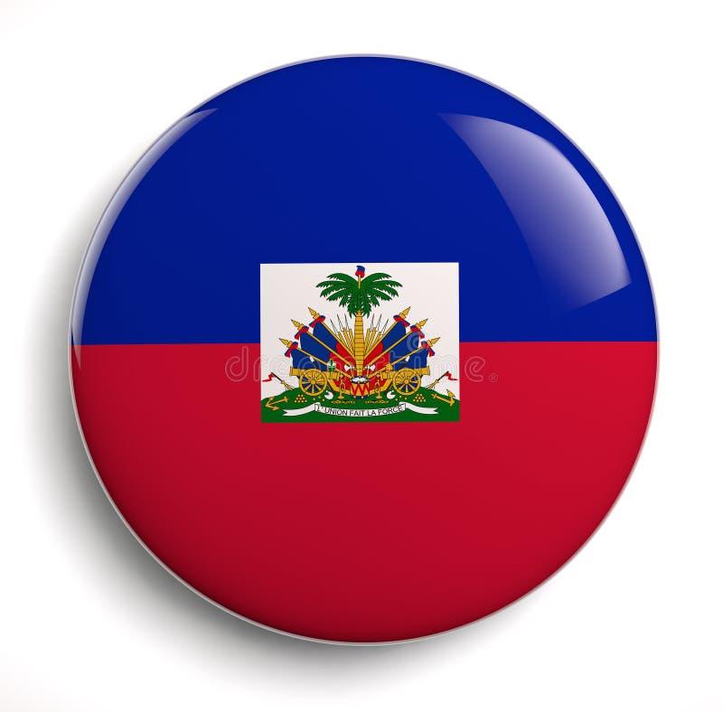 Bandera de Haití ilustración del vector