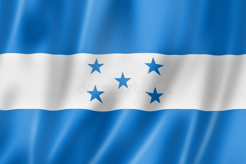Bandera de Honduras libre illustration