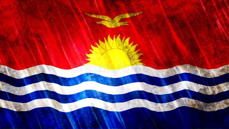 Bandera de Kiribati libre illustration