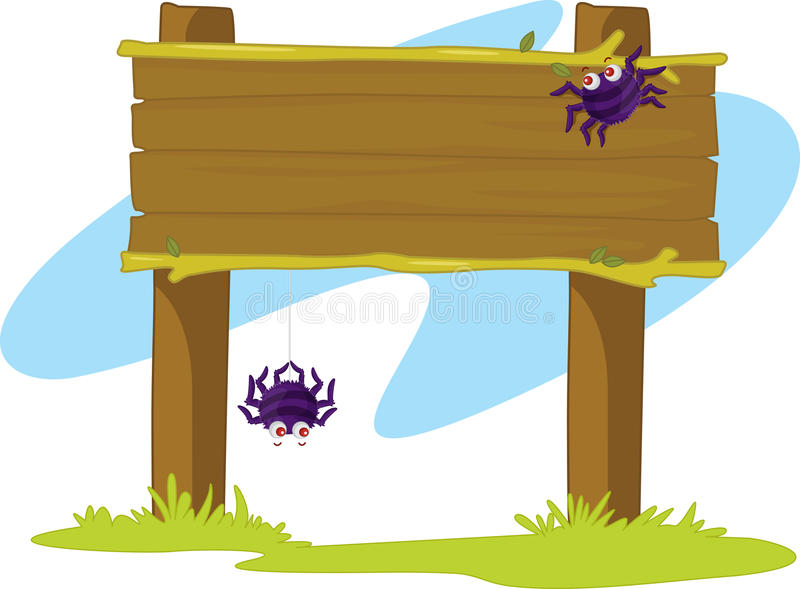 Bandera de la araña libre illustration