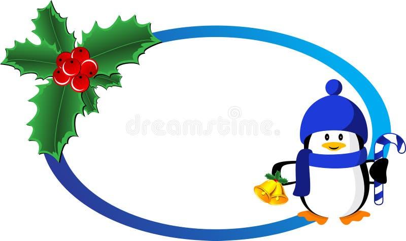 Bandera De La Navidad Imagen de archivo