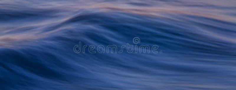 Bandera de la ola oceánica imagen de archivo libre de regalías