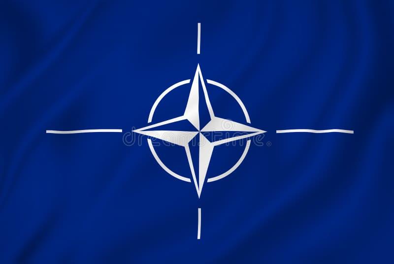Bandera de la OTAN libre illustration