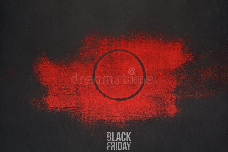 Bandera de la publicidad de la venta de Black Friday libre illustration