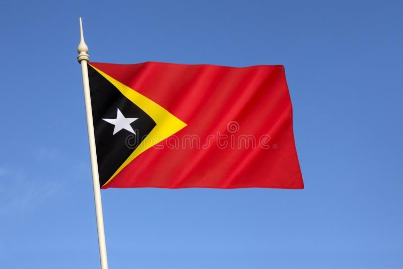 Bandera de la República Democratic de Timor-Leste fotos de archivo