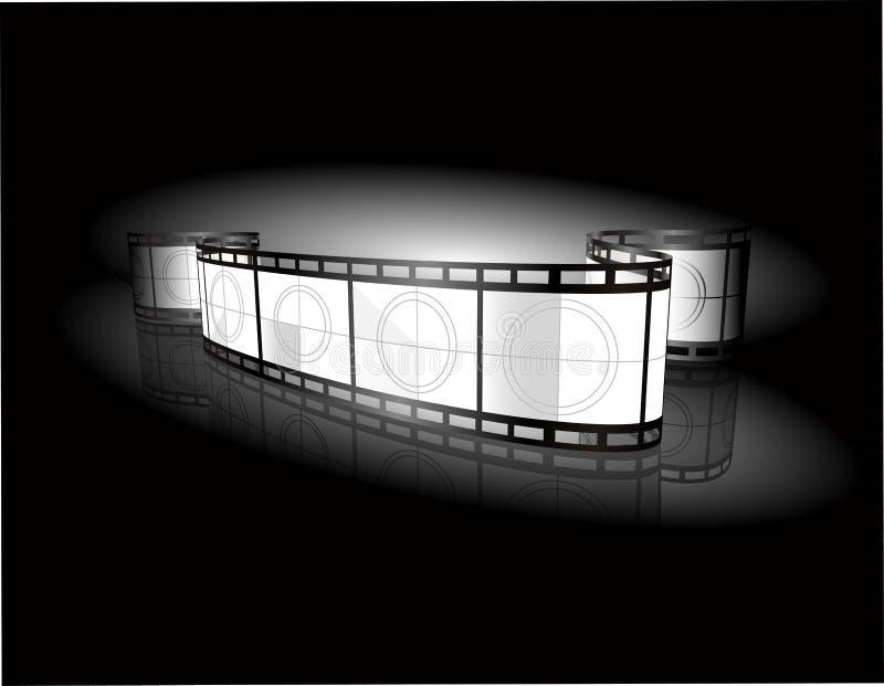 Bandera de la tira de la película libre illustration