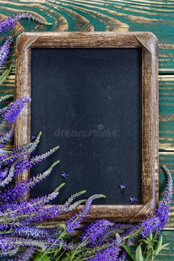 Bandera de las flores Background foto de archivo libre de regalías