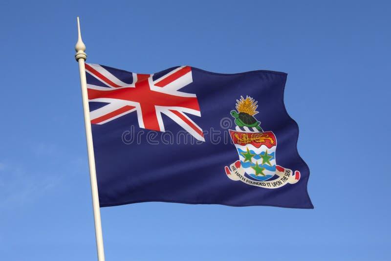 Bandera de las Islas Caimán - el Caribe fotografía de archivo libre de regalías